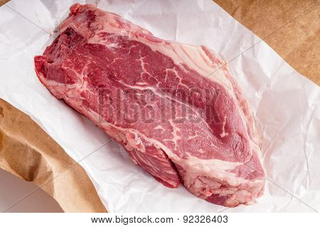 Raw Beef Steak Meat