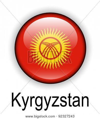 kyrgyzstan official state flag