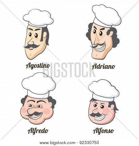 Four Italian Cooks