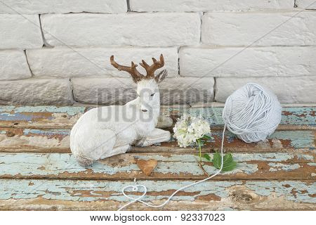 Statuette With Deer