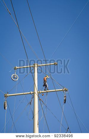 Power Line Repair