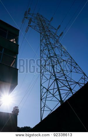 Electricity Pylon - Stock Image