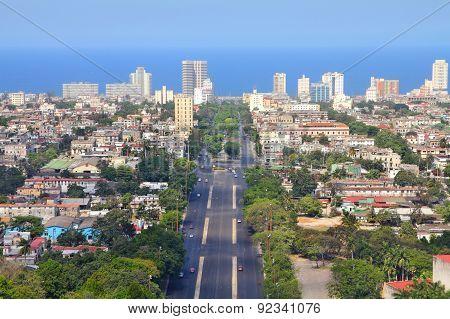 Havana Aerial View