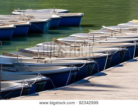 Leisure Boats Moored