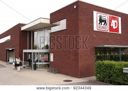 Delhaize supermarket