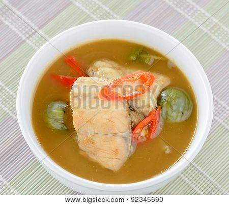 Thai Style Red Fish Curry