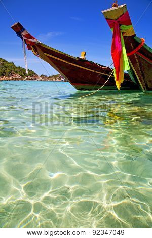 Asia  The  Bay Kho Tao  Isle   Sea Anchor
