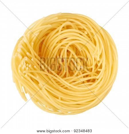 Pasta Isolated On A White Background