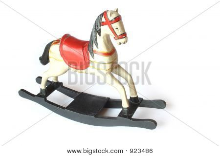 Wooden Rockin'  Horse