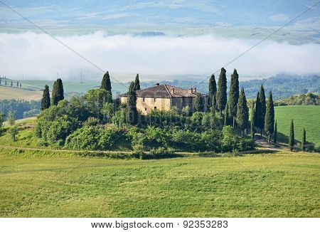 Typical Tuscan landscape. Italy