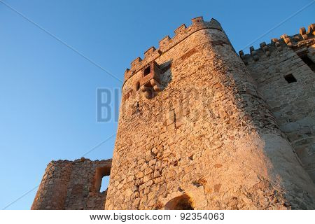 Ancient castle in ruins located in the north of C���¡ceres