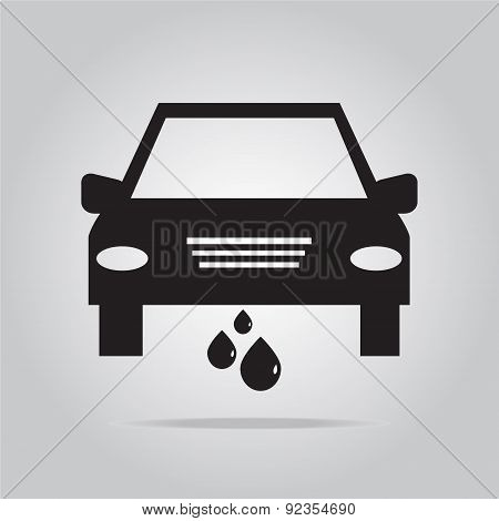 Car Service Icon Illustration