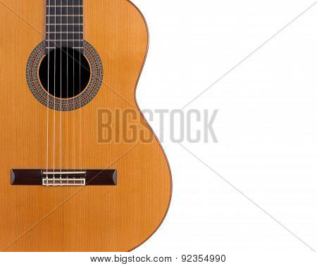 Acoustic Guitar. Background