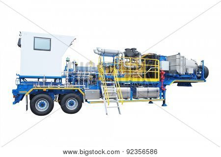 the image of an equipment for work in mining industry