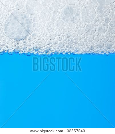 Soap Froth On The Water