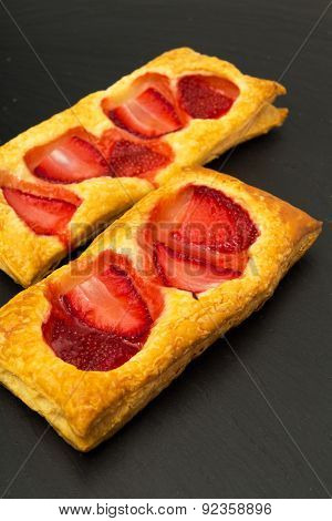 Puff Pastry Slices