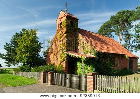 A traditional old village church