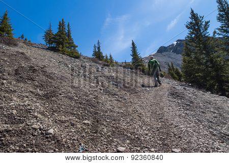 Climbing Ha Ling Peak