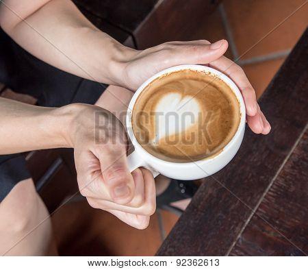 Beautiful Coffee Cup