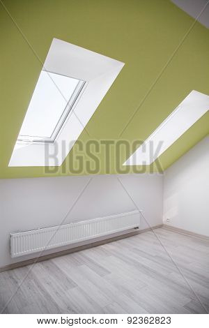 Room With Slanting Window