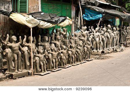 Clay Idols For Sale