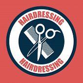 image of barbershop  - Barbershop icons design  - JPG