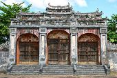 stock photo of emperor  - Entrance gate near the emperor - JPG