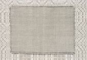 image of dapple-grey  - background linen fabric with a pattern of weaving grey colourtoning - JPG