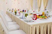 pic of banquet  - Banquet facilities table setting - JPG