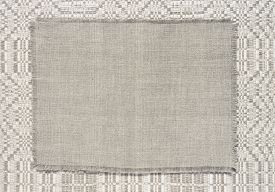 picture of dapple-grey  - background linen fabric with a pattern of weaving grey colourtoning - JPG