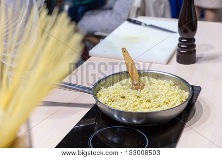 Cooking bulgur