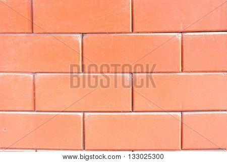 Brick, wall, background,  red, brickwork, surface, wallpaper