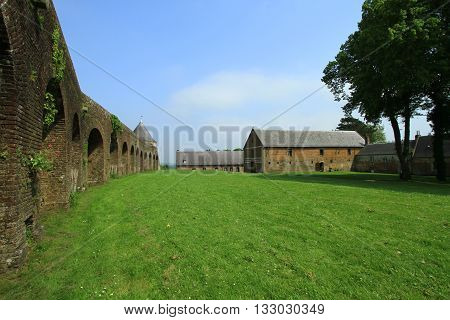 CITADEL OF MONTREUIL ON SEA, WAY OF THE ROUND , PAS DE CALAIS, THE NORTH OF FRANCE