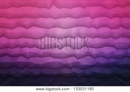 Abstract 3d vector geometrical polygonal waveform structure bright background for design, business, print, web, ui and other