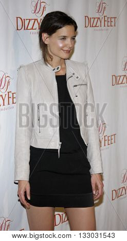 Katie Holmes at the Dizzy Feet Foundation's Celebration of Dance held at the Kodak Theater in Hollywood, USA on November 29, 2009.