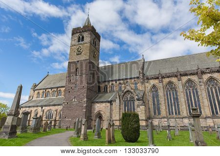 Dunblane Cathedral Scotland UK near Stirling medieval church
