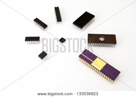 Various Kinds Of Electronic Chips