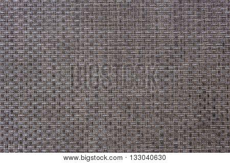 Woven grey thick wire warp textured background