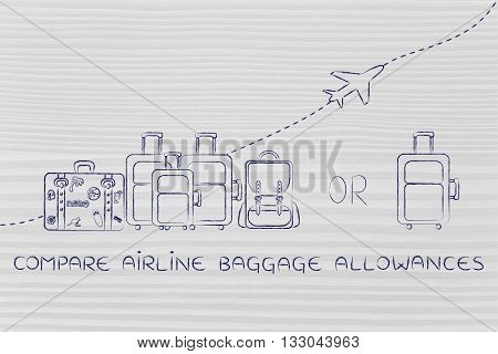 Compare Airline Baggage Allowances: Generous Or Strict