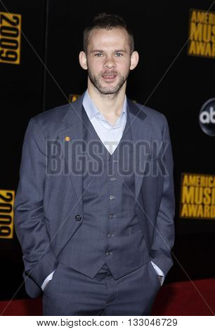 Dominic Monaghan at the 2009 American Music Awards held at the Nokia Theater in Los Angeles, USA on November 22, 2009.