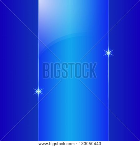 Vector abstract colored shining blue metallic background plate