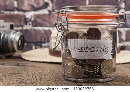 Wedding Savings Jar