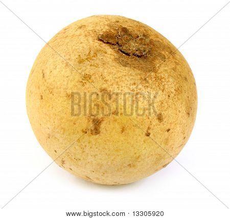 Close up of sapodilla fruit