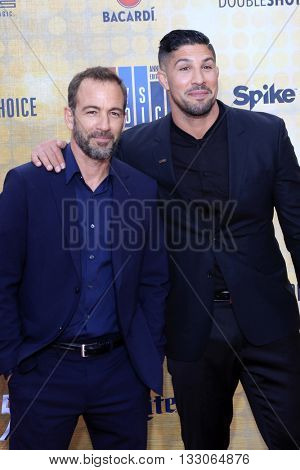 LOS ANGELES - JUN 4:  Bryan Callen, Brendan Schaub at the 10th Annual Guys Choice Awards at the Sony Pictures Studios on June 4, 2016 in Culver City, CA