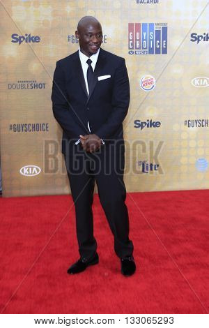 LOS ANGELES - JUN 4:  Antonio Tarver at the 10th Annual Guys Choice Awards at the Sony Pictures Studios on June 4, 2016 in Culver City, CA