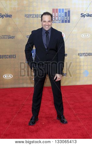 LOS ANGELES - JUN 4:  George X at the 10th Annual Guys Choice Awards at the Sony Pictures Studios on June 4, 2016 in Culver City, CA