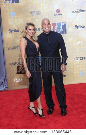 LOS ANGELES - JUN 4:  Amber Miller, Tito Ortiz at the 10th Annual Guys Choice Awards at the Sony Pictures Studios on June 4, 2016 in Culver City, CA