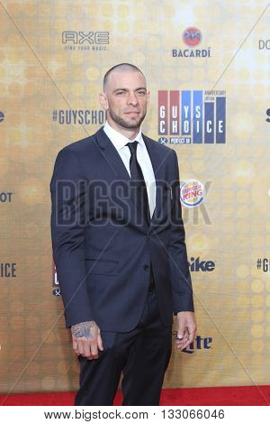LOS ANGELES - JUN 4:  Joe Schilling at the 10th Annual Guys Choice Awards at the Sony Pictures Studios on June 4, 2016 in Culver City, CA