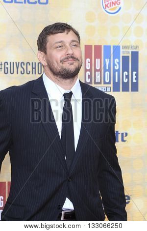 LOS ANGELES - JUN 4:  Matt Mitrione at the 10th Annual Guys Choice Awards at the Sony Pictures Studios on June 4, 2016 in Culver City, CA