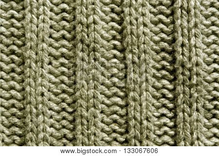 Abstract Beige Knitting Texture Close-up.